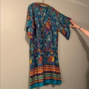 Dresses & Skirts - Vintage 60s-70s kimono dress